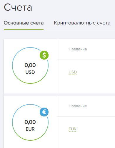 Capitalist.net предлагает счета как в фиатных деньгах, так и криптовалютах